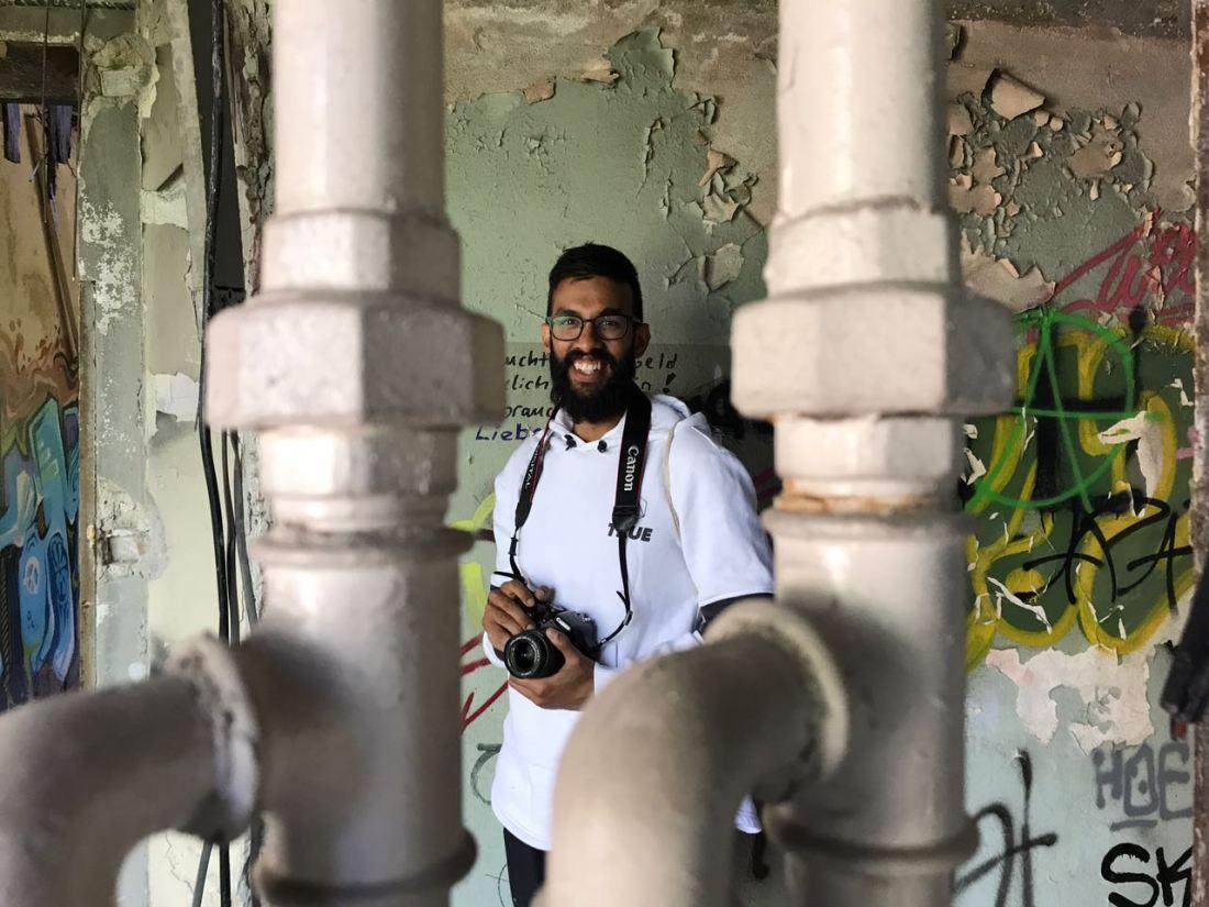 Fotografen Nafiz utforskar överlämnat sjukhus i Berlin